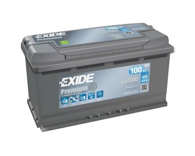 Exide Premium EA1000 (6 CT-100) 100Ah-900Aen R+ - фото 1