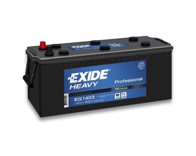 Exide Heavy Professional EG1403 (6 CT-140) 140Ah-800Aen L+ - фото 1