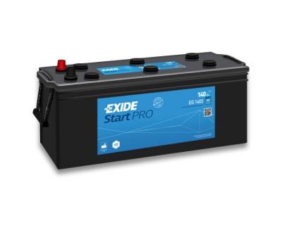 Exide Start Pro EG1403 6CT- 140Ah-800Aen L+ - фото 1