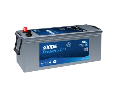 Exide Power PRO EF1453 6 CT-145Ah-900Aen L+ - фото 1
