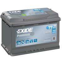 Exide Premium EA770 (6 CT-77) 77Ah-760Aen R+
