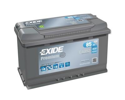 Exide Premium EA852 (6 CT-85) 85Ah-800Aen R+ (h-175) - фото 1