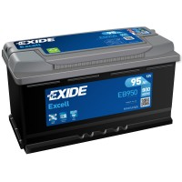 Exide Excell EB950 (6 CT-95) 95Ah-800Aen R+