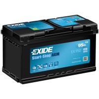 Exide Start-Stop AGM EK950 95Ah-850Aen R+