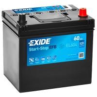 Exide Start-Stop EFB EL604 6CT-60Ah-520A(en) (0) R+