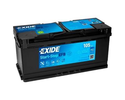 Exide Start-Stop EFB EL1050 105Ah-950Aen R+ - фото 1
