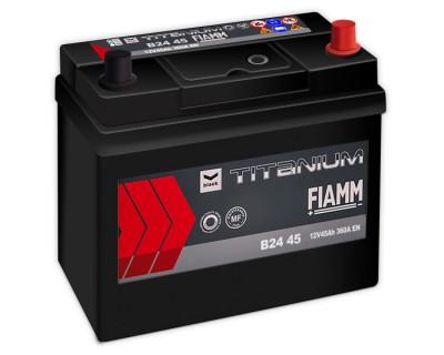 Fiamm Black Titanium B24 45 7905170 (6 CT-45) 45Ah-360Aen R+ - фото 1
