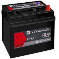 Fiamm Black Titanium D20 50 7905174 (6 CT-50) 50Ah-420Aen R+