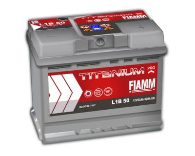 Fiamm Titanium Pro L1B-50 7905144 (6 CT-50) 50Ah-520Aen R+ h-175 - фото 1