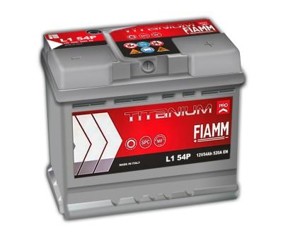 Fiamm Titanium Pro L1 54P 7905145 (6 CT-54) 54Ah-520Aen R+ - фото 1