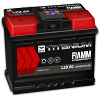 Fiamm Black Titanium L2X-60 7905179 (6 CT-60) 60Ah-510Aen L+