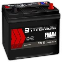 Fiamm Black Titanium D23 60 7905180 (6 CT-60) 60Ah-540Aen R+