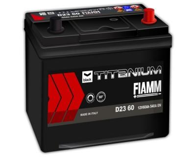 Fiamm Black Titanium D23 60 7905180 (6 CT-60) 60Ah-540Aen R+ - фото 1