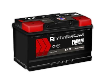 Fiamm Black Titanium 95Ah-850Aen R+ - фото 1