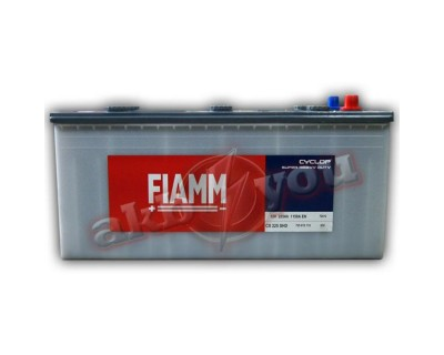 Fiamm Cyclop CX225-SHD 725 012 115 (6 CT-225) 225Ah-1150Aen L+ - фото 1