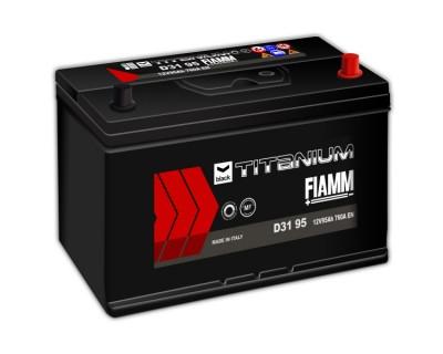 Fiamm Black Titanium D31 95 7905194 (6 CT-95) 95Ah-760Aen R+ - фото 1