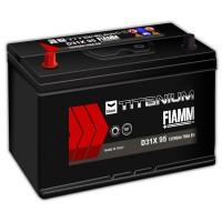 Fiamm Black Titanium D31X 95 7905195 (6 CT-95) 95Ah-760Aen L+