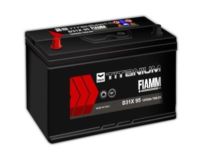 Fiamm Black Titanium D31X 95 7905195 (6 CT-95) 95Ah-760Aen L+ - фото 1