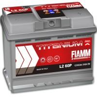 Fiamm Titanium Pro L2-60P 7905147 (6 CT-60) 60Ah-540Aen R+