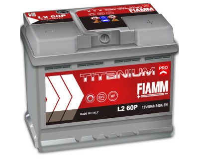Fiamm Titanium Pro L2-60P 7905147 (6 CT-60) 60Ah-540Aen R+ - фото 1