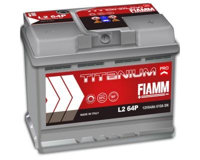 Fiamm Titanium Pro L2 64P 7905150 (6 CT-64) 64Ah-610Aen R+ - фото 1