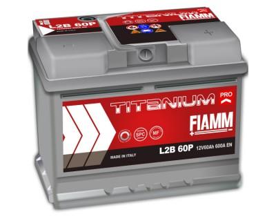 Fiamm Titanium Pro 60Ah-600A(EN) R+ h-175 - фото 1