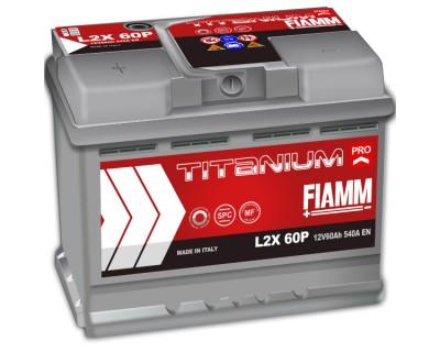 Fiamm Titanium Pro L2X-60P 7905148 (6 CT-60) 60Ah-540Aen L+ - фото 1