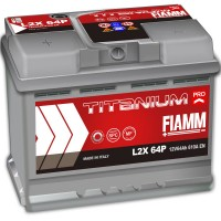 Fiamm Titanium Pro L2X 64P 7905151 (6 CT-64) 64Ah-610Aen L+