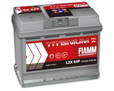 Fiamm Titanium Pro L2X 64P 7905151 (6 CT-64) 64Ah-610Aen L+ - фото 1