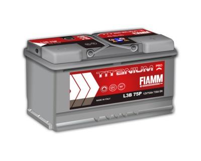 Fiamm Titanium Pro L3B 75P 7905156 (6 CT-75) 75Ah-730Aen R+ (h=175) - фото 1