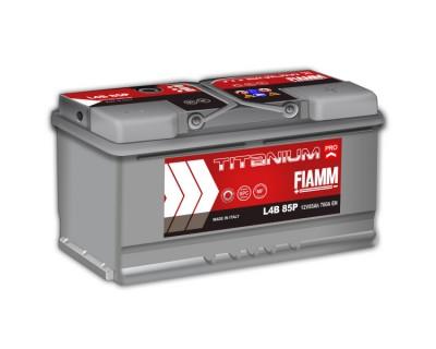 Fiamm Titanium Pro L4B 85P 7905158 (6 CT-85) 85Ah-760Aen R+ (h-175) - фото 1