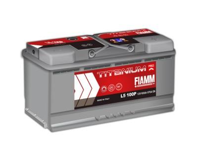 Fiamm Titanium Pro L5 100P 7905160 (6 CT-100) 100Ah-870Aen R+ - фото 1