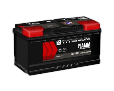 Fiamm Black Titanium 110Ah-950Aen R+ - фото 1