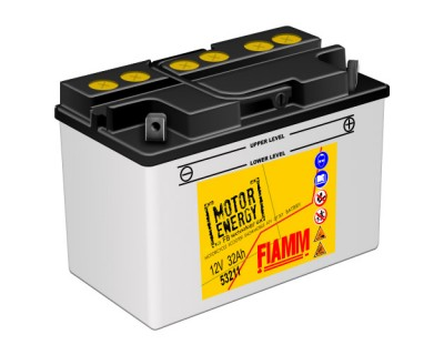 Fiamm Motor Energy FB Technology 53211  7904463 12V 32Ah R+ - фото 1