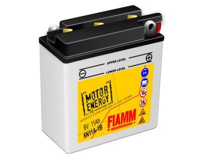Fiamm Motor Energy FB Technology 6N11A-1B  7904468 6V 11Ah R+ - фото 1
