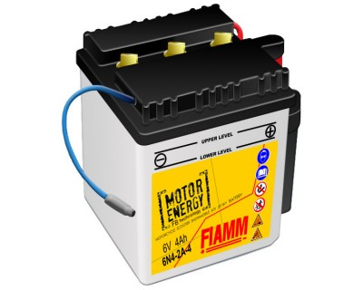 Fiamm Motor Energy FB Technology 6N4-2A-4  7904464 6V 4Ah R+ - фото 1