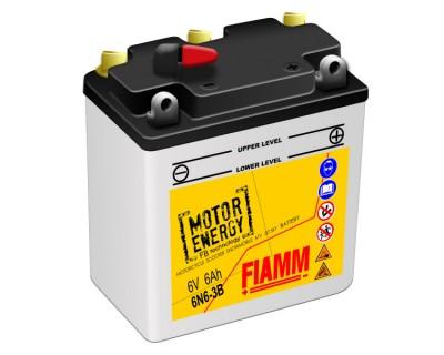 Fiamm Motor Energy FB Technology 6N6-3B  7904465 6V 6Ah R+ - фото 1