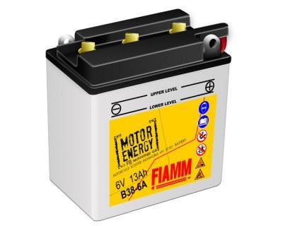 Fiamm Motor Energy FB Technology B38-6A  7904469 6V 13Ah R+ - фото 1