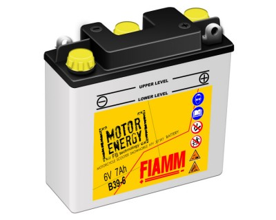 Fiamm Motor Energy FB Technology B39-6  7904466 6V 7Ah R+ - фото 1