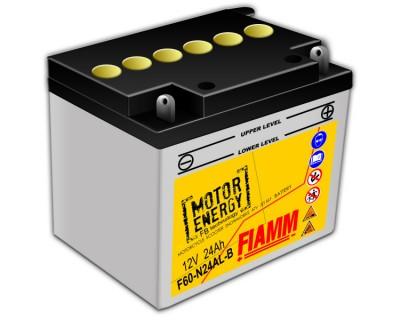 Fiamm Motor Energy FB Technology F60-N24AL-B  7904461 12V 24Ah R+ - фото 1