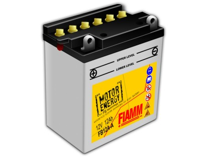 Fiamm Motor Energy FB Technology FB12A-A 7904447 12V 12Ah L+ - фото 1