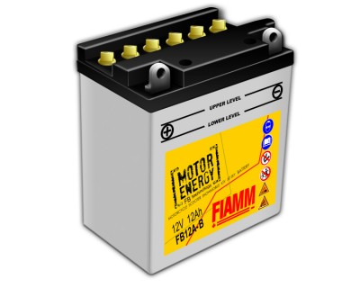 Fiamm Motor Energy FB Technology FB12A-B 7904449 12V 12Ah L+ - фото 1