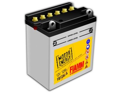 Fiamm Motor Energy FB Technology FB12AL-A 7904448 12V 12Ah R+ - фото 1