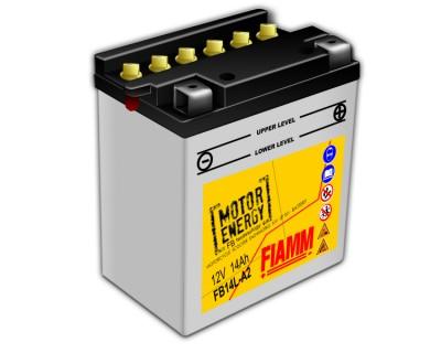 Fiamm Motor Energy FB Technology FB14L-A2 7904450 12V 14Ah R+ - фото 1