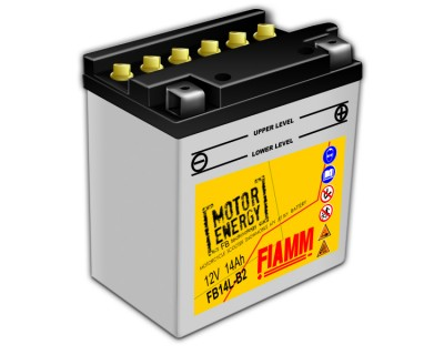 Fiamm Motor Energy FB Technology FB14L-B2 7904452 12V 14Ah R+ - фото 1