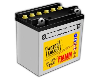 Fiamm Motor Energy FB Technology FB16-B 7904458 12V 19Ah L+ - фото 1