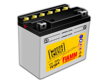 Fiamm Motor Energy FB Technology FB16B-A 7904455 12V 16Ah L+ - фото 1