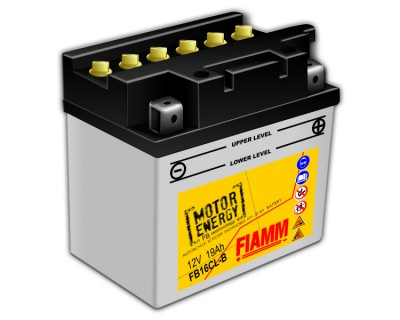 Fiamm Motor Energy FB Technology FB16CL-B 7904459 12V 19Ah R+ - фото 1