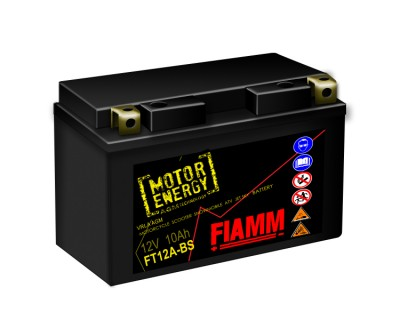 Fiamm Motor Energy AGM Technology FT12A-BS 7904485 12V 10Ah L+ - фото 1