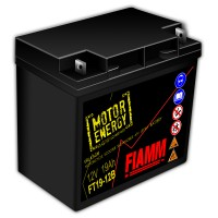 Fiamm Motor Energy AGM Technology FT19-12B 7904473 12V 19Ah R+